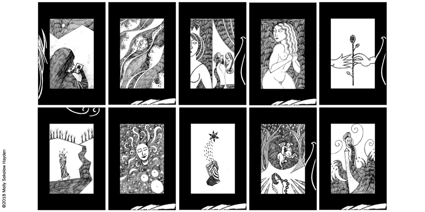 vts my work marrow tarot
